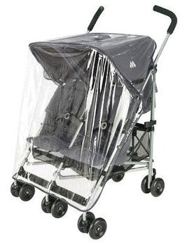 Maclaren Double Umbrella Stroller Rain Cover