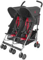 Maclaren Twin Triumph Stroller in Scarlet/Charcoal