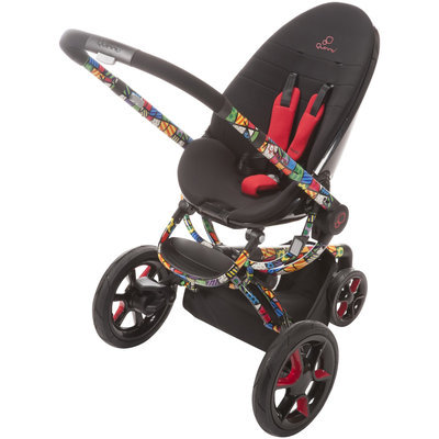 Quinny Romero Britto Moodd Stroller - Chassis Only