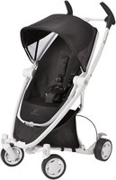 Quinny Zapp Xtra Stroller with Folding Seat White Collection - Black Irony