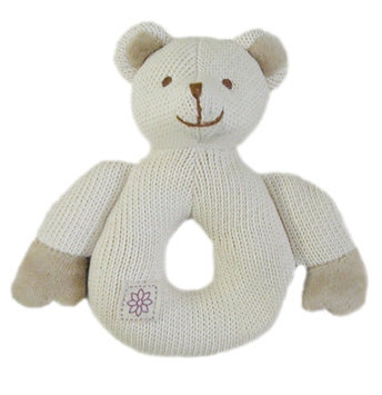 MiYim Organic Teether - Knitted Bear - 1 ct.