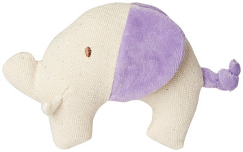 MiYim My Natural Canvas Knit Teether - Purple Elephant