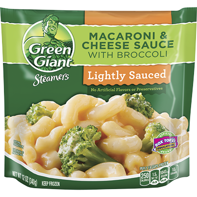 Green Giant® Steamers Macaroni & Cheese Sauce With Broccoli