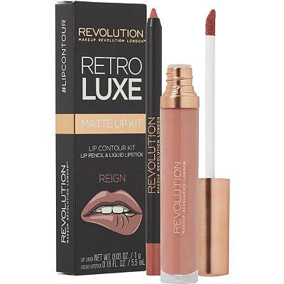 Makeup Revolution Retro Luxe Matte Lip Kit