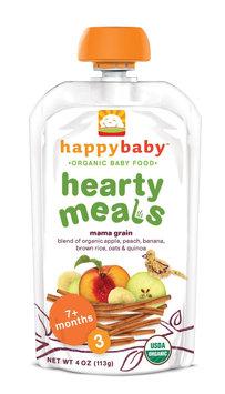 Happy Baby Hearty Meals Mama Grain Organic Baby Food