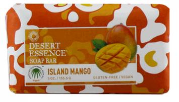 Desert Essence Island Mango Soap Bar