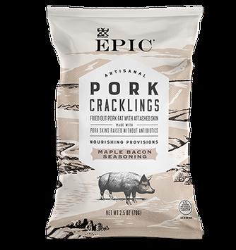 EPIC Bar Maple Bacon Pork Cracklings
