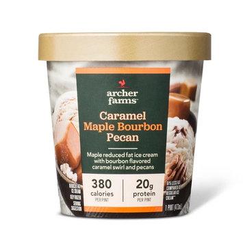 archer farms Maple Caramel Bourbon Pecan Ice Cream