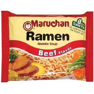 Maruchan Ramen Noodle Soup Beef Flavor