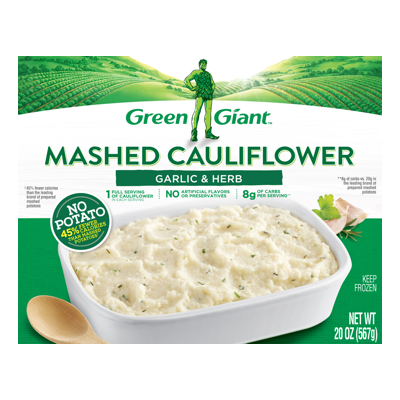 Green Giant® Garlic & Herb Mashed Cauliflower Meal