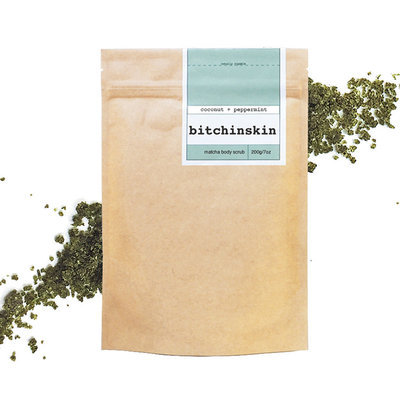BitchinSkin Matcha Body Scrub