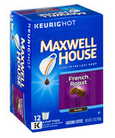 Maxwell House Cafe Collection French Dark Roast Coffee