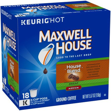 Maxwell House Decaf Medium House Blend K-Cup