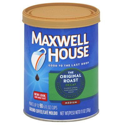 Maxwell House Decaf Original Roast Ground Medium Coffee