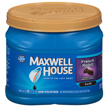 Maxwell House French Roast Medium Dark Ground Coffee