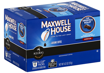 Maxwell House Ground Coffee Original Roast Medium K-Cups
