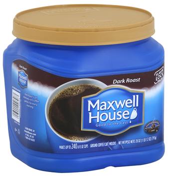 Maxwell House Ground Dark Roast Coffee