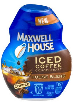 Maxwell House Iced Coffee Concentrate Drink Mix House Blend