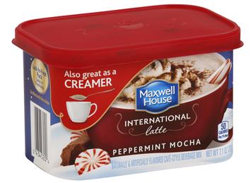 Maxwell House International Cafe Peppermint Mocha Latte