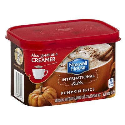 Maxwell House International Cafe Pumpkin Spice Latte
