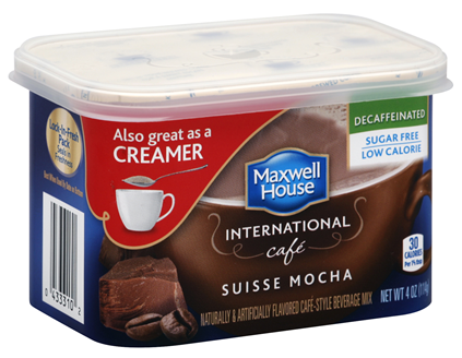 Maxwell House International Suisse Mocha Sugar Free