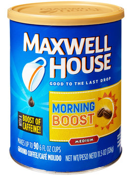 Maxwell House Morning Boost Medium Ground Coffee