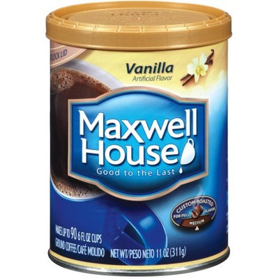 Maxwell House Vanilla Ground Coffee