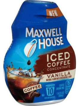 Maxwell House Iced Coffee Concentrate Vanilla