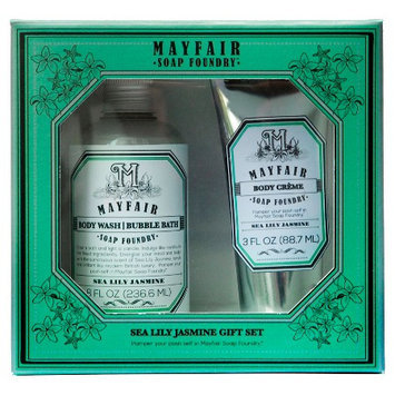 Mayfair Soap Foundry Sea Lily Jasmine Gift Set