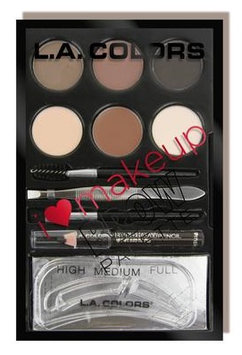L.A. Colors I Heart Makeup Brow Palette
