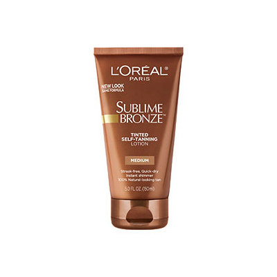 L'Oréal Paris Sublime Bronze™ Tinted Self-Tanning Lotion Medium Natural Tan