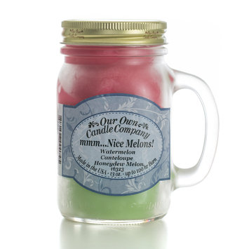 Our Own Candle Company Melon Triple Mason Jar Candle