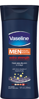 Vaseline® Men Healing Moisture Extra Strength Lotion