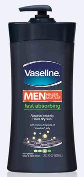 Vaseline® Men Healing Moisture Fast Absorbing Lotion
