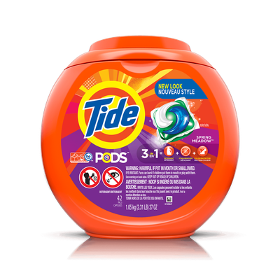 Tide PODS® Laundry Detergent Spring Meadow Scent