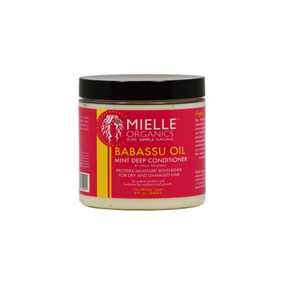 Mielle Organics Babassu Oil Mint Deep 8-ounce Conditioner