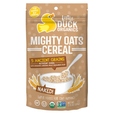 Little Duck Organics Naked Mighty Oats