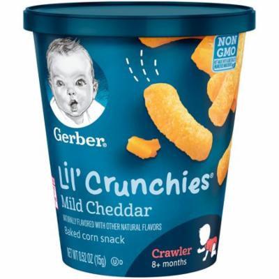 Gerber® Lil' Crunchies® | Mild Cheddar Snack Cup