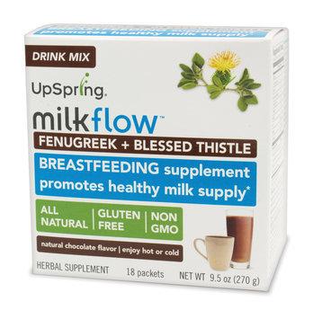 UpSpring Milkflow Fenugreek + Blessed Thistle Drink Mix – Chocolate