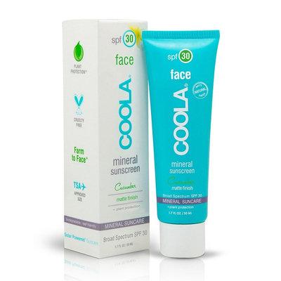 COOLA Mineral Face SPF 30 Cucumber Matte Finish Moisturizer