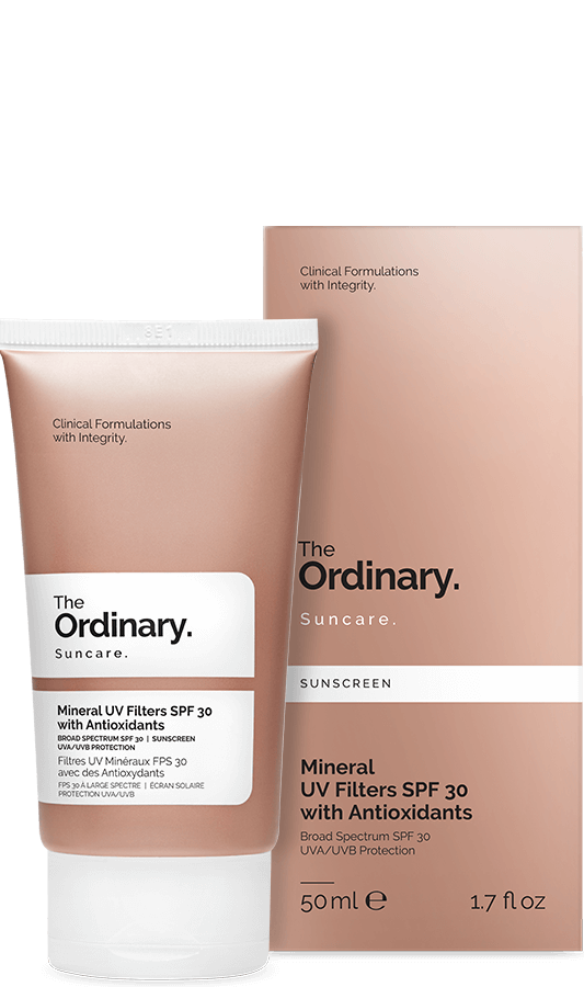 The Ordinary. Mineral UV Filters SPF 30 with Antioxidants
