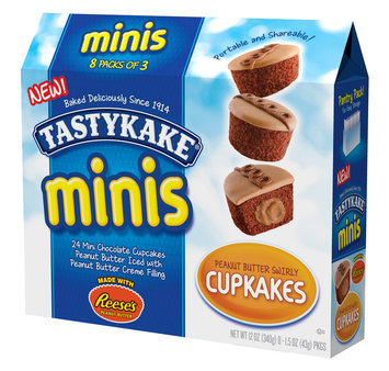 Tastykake® Mini Peanut Butter Swirly Cupcakes