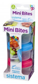 Sistema Mini Bites 3 Pack