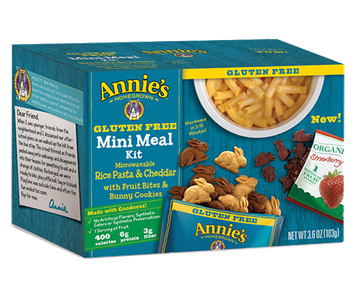Annie's® Homegrown Rice Pasta & Cheddar Mini Meal Kit