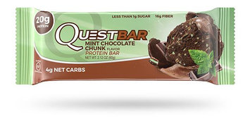 QUEST NUTRITION Mint Chocolate Chunk Protein Bar