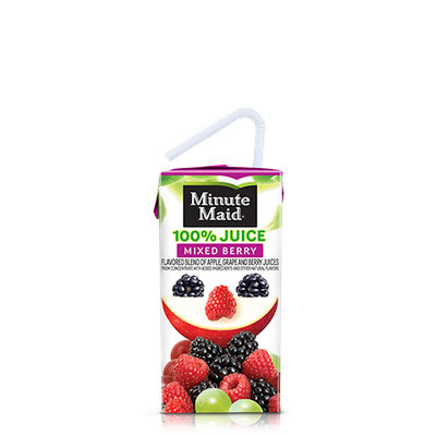 Minute Maid® 100% Mixed Berry Juice