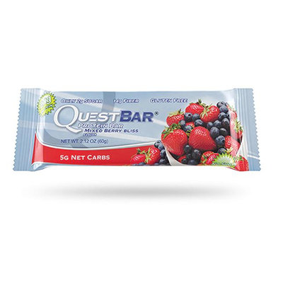 QUEST NUTRITION Mixed Berry Bliss Protein Bar