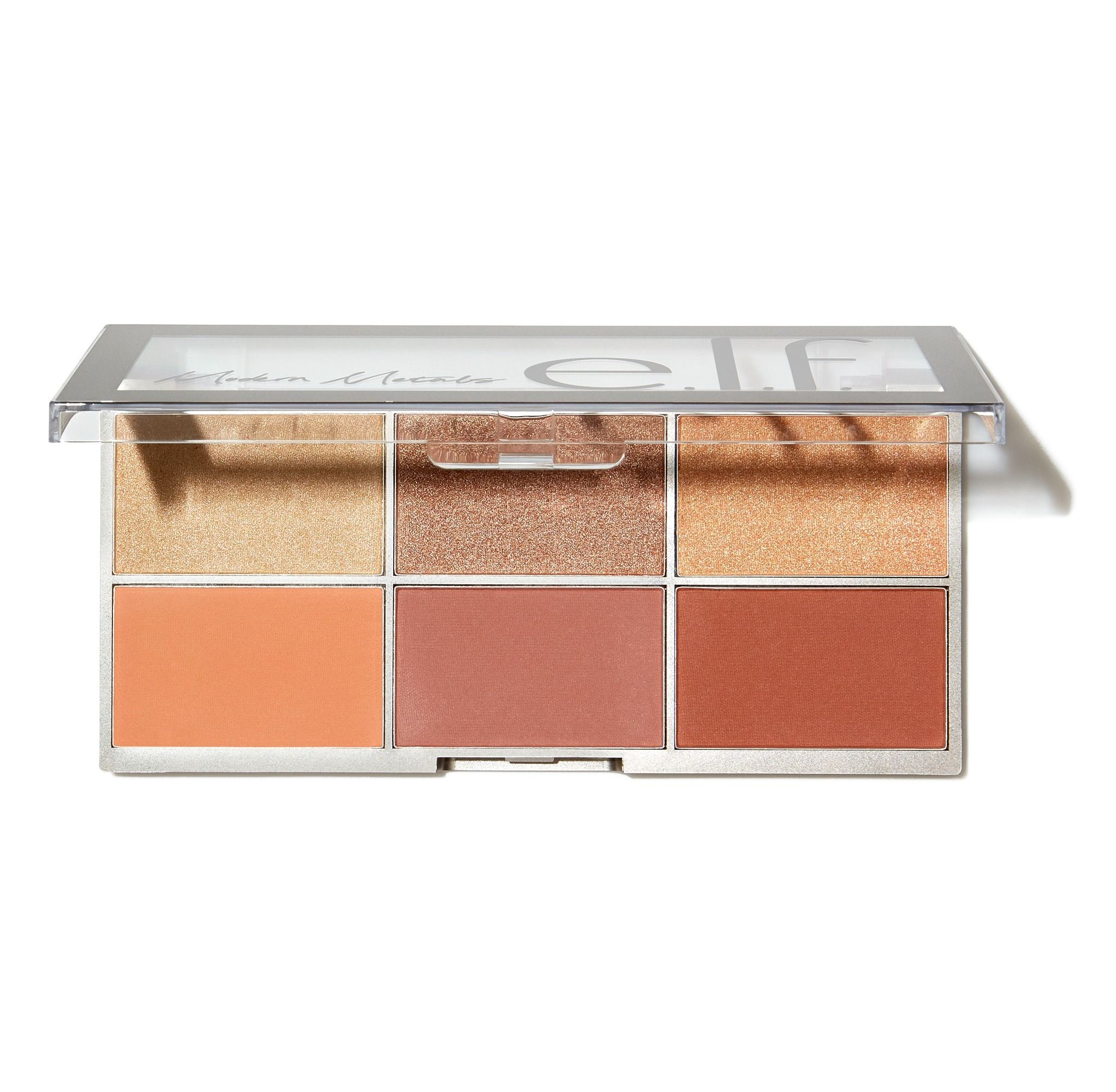 e.l.f. Cosmetics Modern Metals Blush and Highlighter Palette