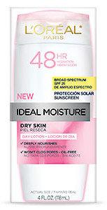 L'Oréal Paris Ideal Moisture™ Dry Skin Day Lotion SPF 25