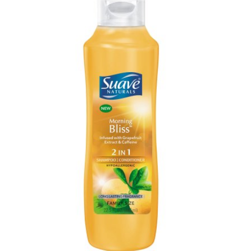 Suave® Naturals  Morning Bliss 2-in-1 Shampoo and Conditioner